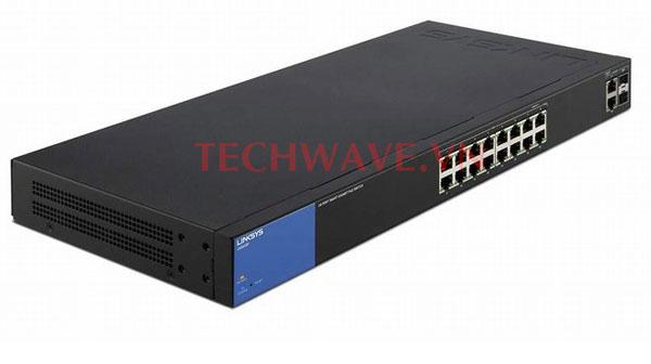 thiết bị chia mạng Linksys LGS318P