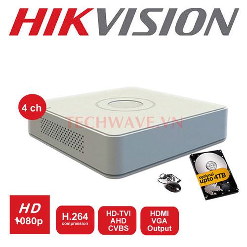 ĐẦU GHI HD-TVI 2MP/3MP/4MP H265+ (TURBO 4.0) DS-7104HQHI-K1