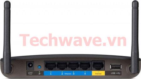 Wireless-N Advanced Dual-Band N RouterLinksys EA2750