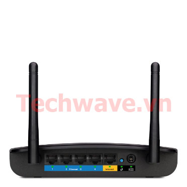 Thiết bị wifi Linksys E1700 N300 Router