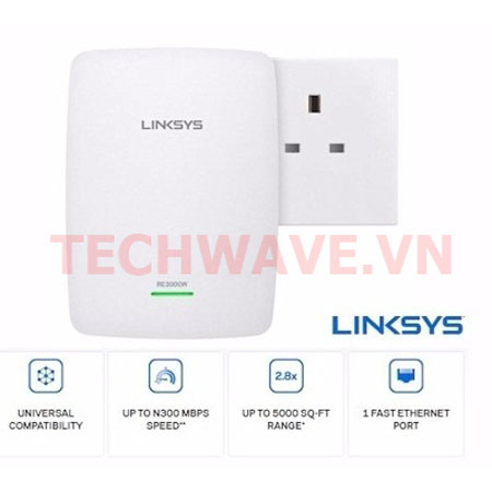 Thiết bị mạng Linksys RE3000W