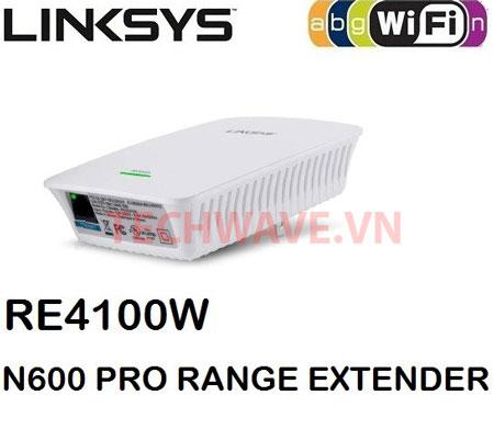 Thiết bị kích sóng wifi Linksys RE4100W N600