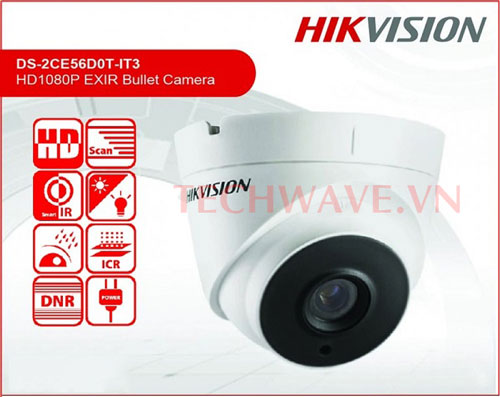 Camera HD-TVI DS-2CE56D0T-IT3