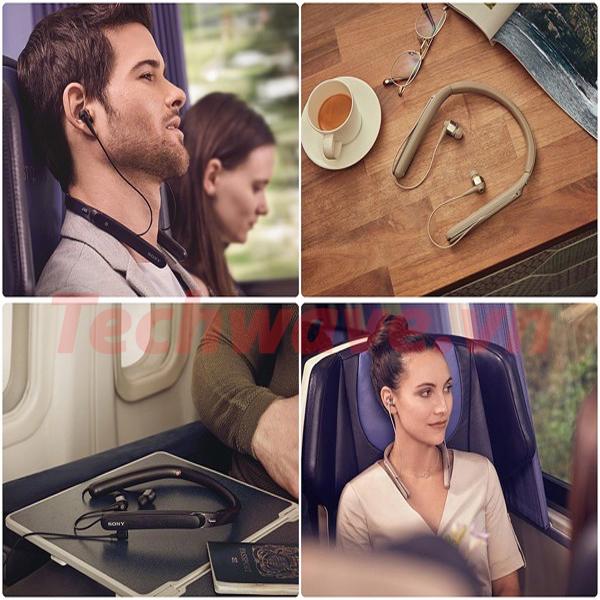 Tai nghe Bluetooth Sony WI-1000X chống ồn tốt như thế nào