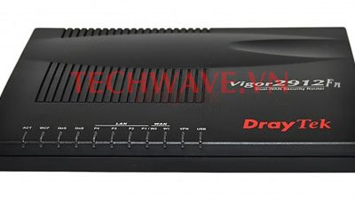 Thiết bị mạng Vigor2912Fn Wireless Fiber router