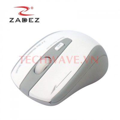chuột quang không dây Zadez M358-White