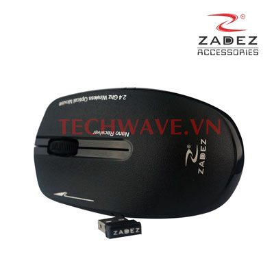 Chuột quang không dây Zadez M364 Black