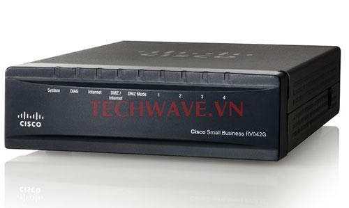 Thiết bị cân bằng tải Cisco RV042G