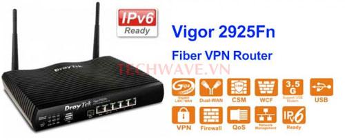 bộ phát Wifi Draytek Vigor 2925Fn FTTH