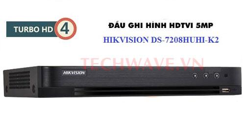 Đầu ghi hình Hikvision (2MP/3MP/5MP) DS-7208HUHI-K2/P