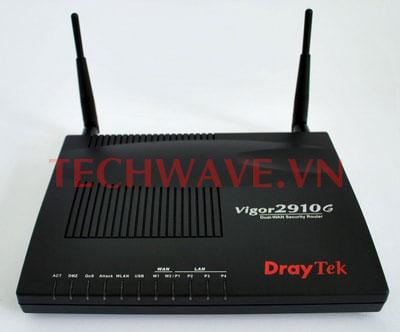 sử dụng router draytek