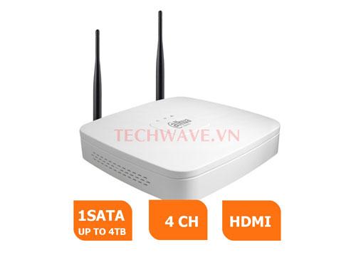 Đầu ghi hình dòng LITE NVR4104-W hỗ trợ Wifi