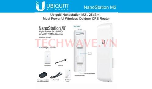 thiết bị UBIQUITI AirMax NanoStation M2
