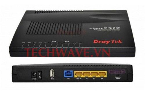 router vigor 2912
