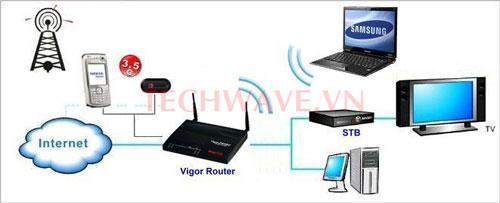 Router vigor
