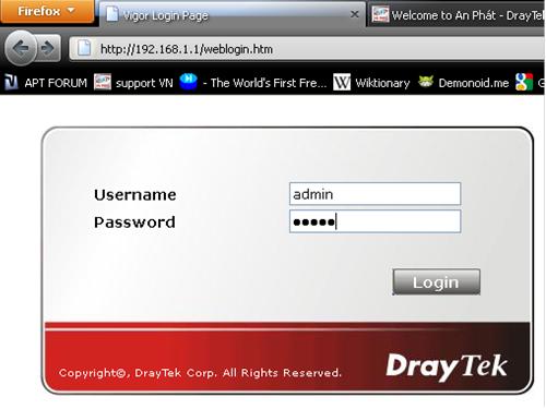 Draytek-Vigor5500