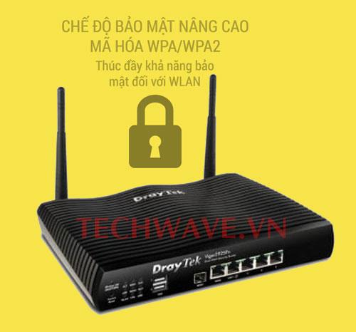 bảo mật modem draytek