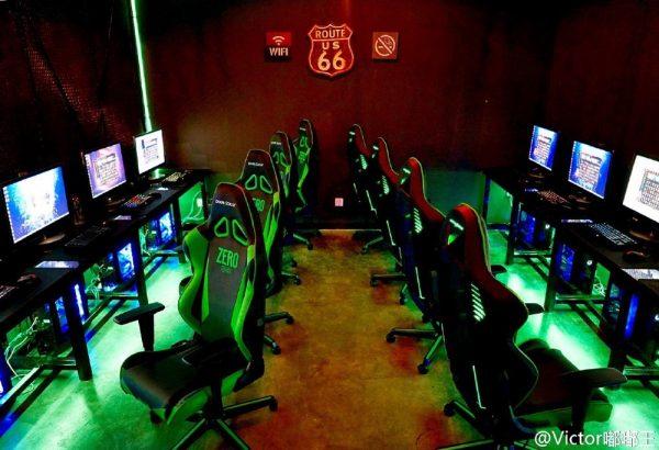 router cáp quang cho quán game