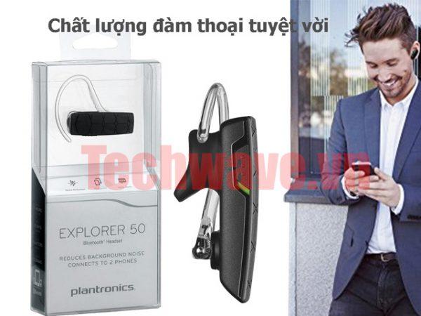 d7d56e2a65d tai nghe bluetooth Plantronics Explorer 50 chất lượng đàm thoại tuyệt vời